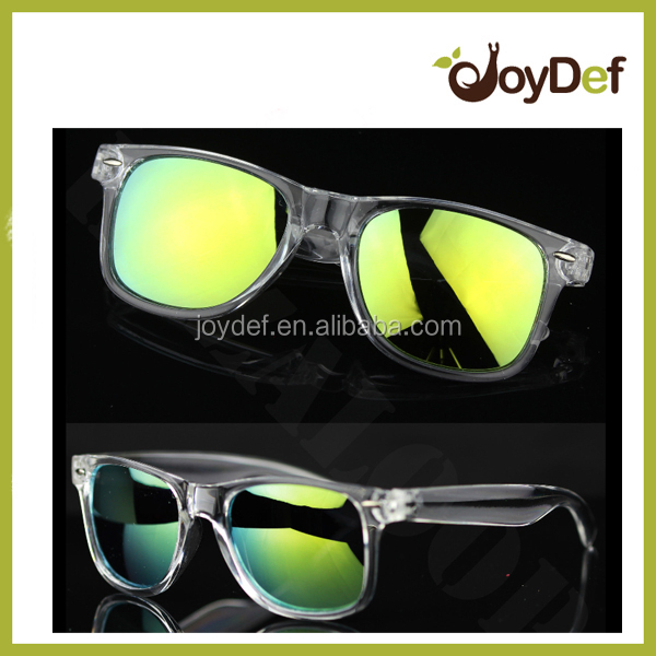 transparent sunglasses clear glasses crystal sun glasses oil shade unisex eye wear