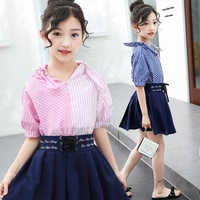 2019 latest children designs girls clothing sets high quality kids fashion boutique clothes wholesale hot sale kids outfits