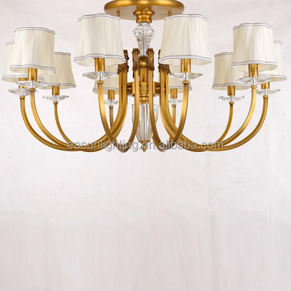 Decorative Fancy Light Fittings American Style Copper Chandelier ...