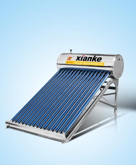 100 liters low Pressure solar hot water heating system