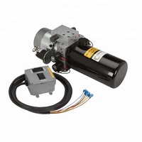 12v dc snow plow hydraulic power pack