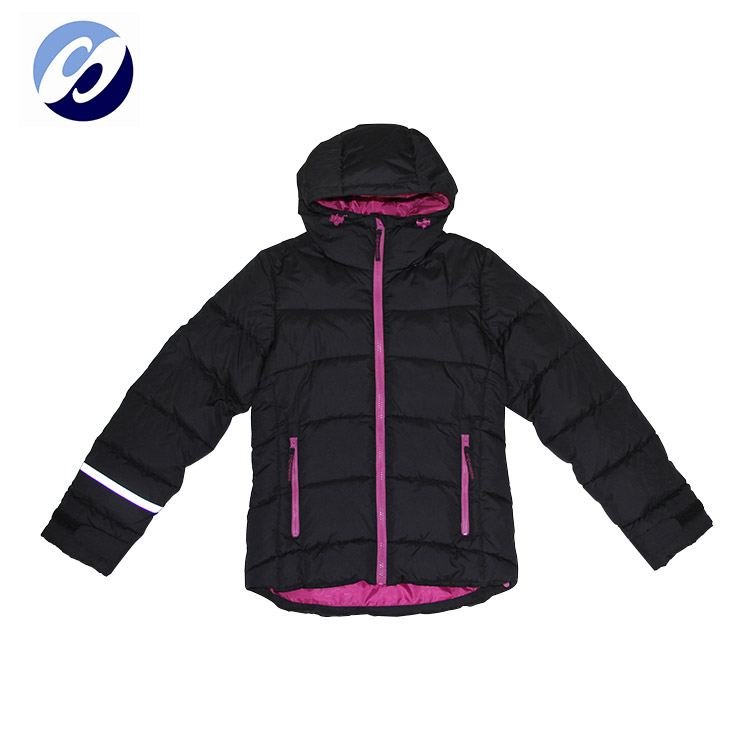 Custom Kid's Long Sleeve Hoodie Ladies Duck Women's Down Jacket