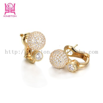 quality elegant women gold free for in earring aaa synthetic type cubic flower online royal l y beautiful earrings zircon pearl designs singapore com allergy with luxury playzoa design