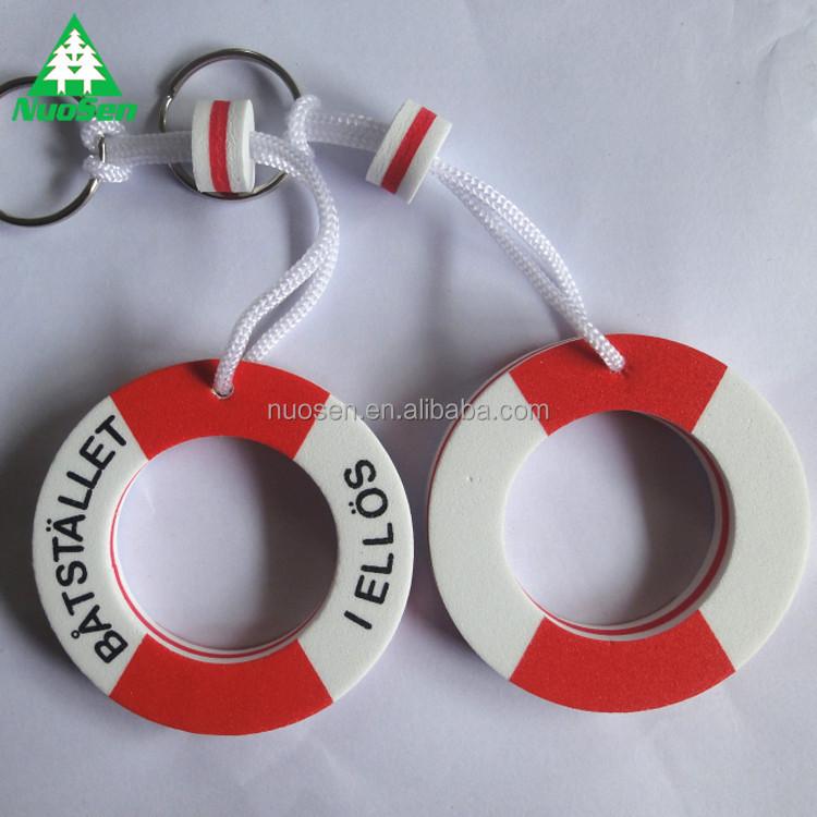 Rudern Boote Eva Schwimm Schlüssel Ring Schlüssel Kette Ringe Sport Fan Schlüssel Ketten Schlüssel Schwimmt-boje Wassersport