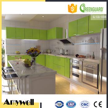 Amywell Hohe Dichte Leicht Sauber Hpl Laminat Kuchenarbeitsplatte