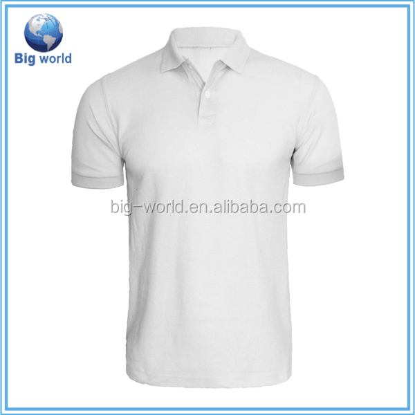 Factory OEM custom design cotton pique embroider polo shirt double mercerized cotton polo shirt