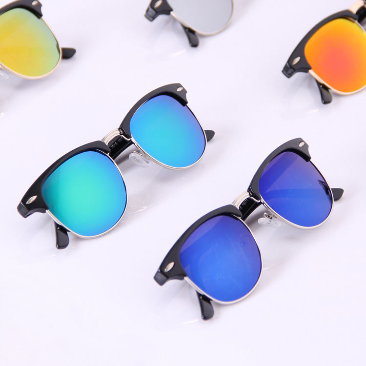Semi Rimless Men Brand Designer Fashion 2015 New Luxury Women'S Glasses Sunglasses Female Occhiali Da Sole M206 Male Glasses