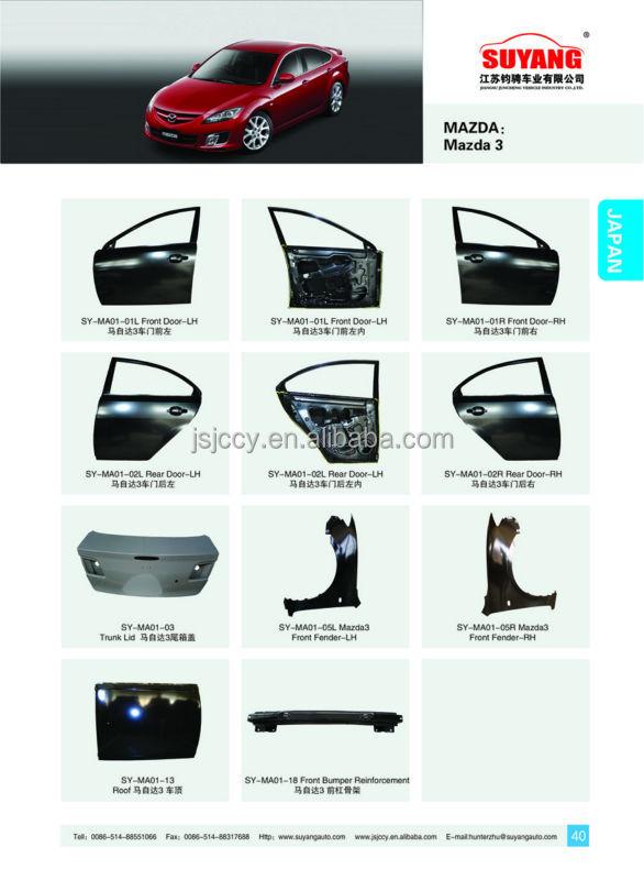 Suyang Good Price Auto Body Parts Mazda 3 2013- Rear Bumper ...