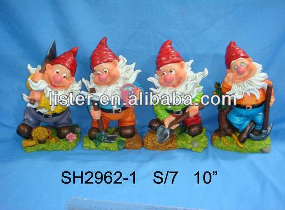 Seven Dwarfs FigureGarden Gnomes CheapGarden Gnome Manufacturers