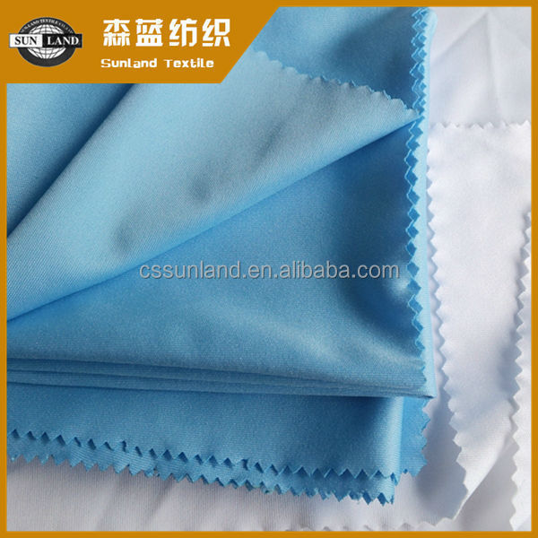 made in china 75D microfiber polyester interlock fabric for glass clean cloth