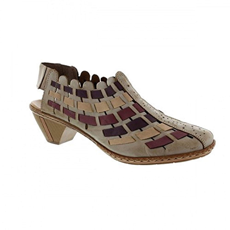 Rieker Girls The Laced Up Footwear Yudif is Synthetik Fashion Sneakers