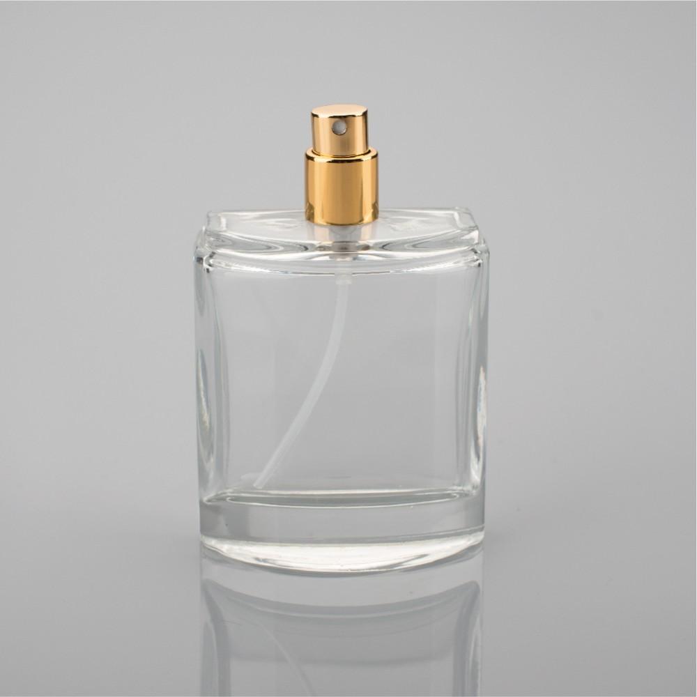 100 Ml Verre Bouteille De Parfum Avec Bouchon Rose 100 Ml Gros Vide