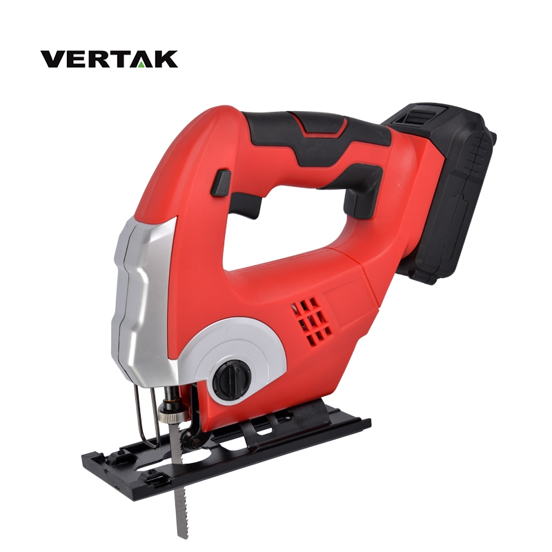 VERTAK Electric Power Tools 18V Lithium-Ion Cordless Jigsaw With 775# Motor