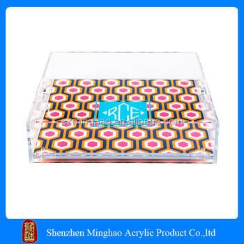 2015 New Style Customized Acrylic Tray With Insert/acrylic Tray ...