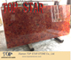 Environmental Natural Gemstone Faux Red agate rough large slab