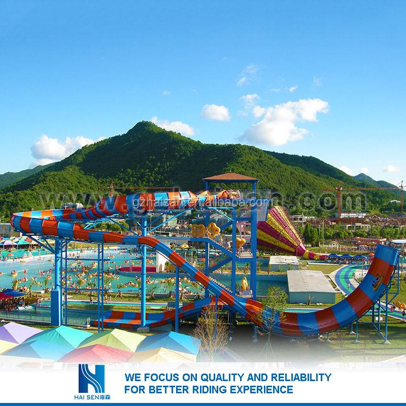 Hot sell Best Price water park water slides for sale