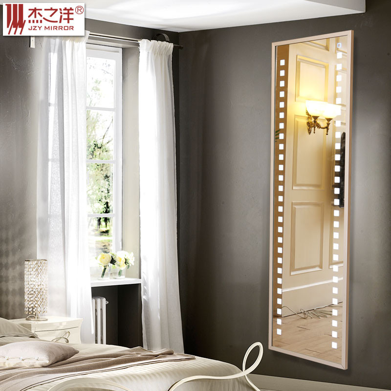 moderno proyecto hotelero espejo de bao con luz led para vestir