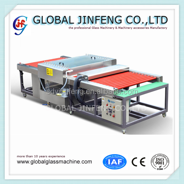 JFQ-1200 Mini glass washer and dryer horizontal glass washing machine