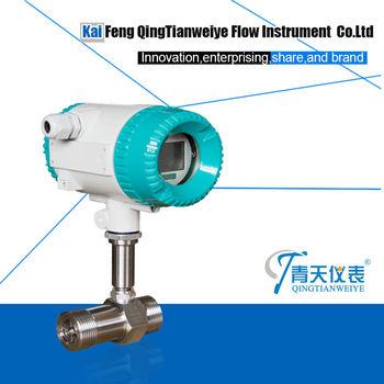 hot sale 4-20mA fuel engine oil diesel turbine flow meter, View oil turbine  flow meter, qtyb Product Details from Kaifeng Qingtianweiye Flow