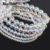 AB White Plated Colorful Crystal Beads Bracelet Beads For DIY Jewelry