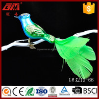 china factory handmade christmas tree hanging spring bird ornament