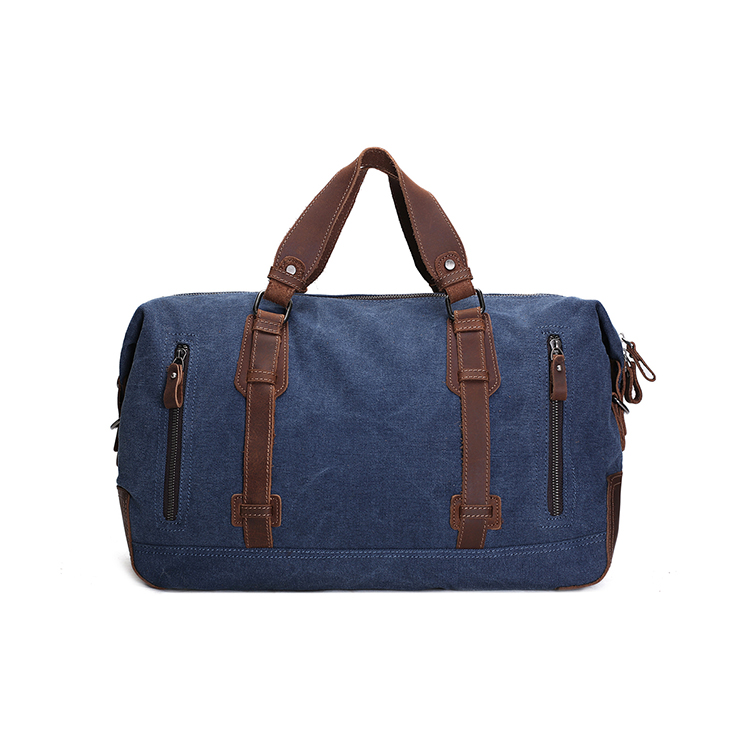 1DF0099 Vintage Stylish Outdoor Travel Bag Extra Large Capacity Holdall  Luggage Waxed Waterproof Canvas Duffle bag 2feaad941dcfc