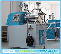 Horizontal sand mill machine for paint and frit