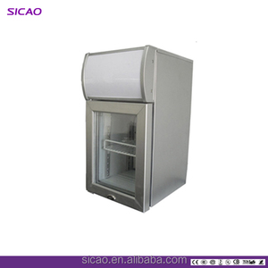 2018 New Product Display Counter Commercial Refrigerator freezer