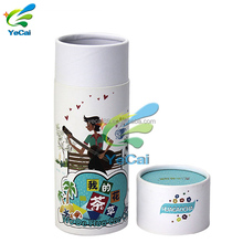 Free sample good supplying cylinder packaging paper box , chinese round packaging tea gift box