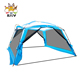 6 8 10 12 Person 3.6*3.6m Large Space Outdoor PU Sun Shelter UV Protection Waterproof Camping Roof Tent 11.7ft x 11.7ft