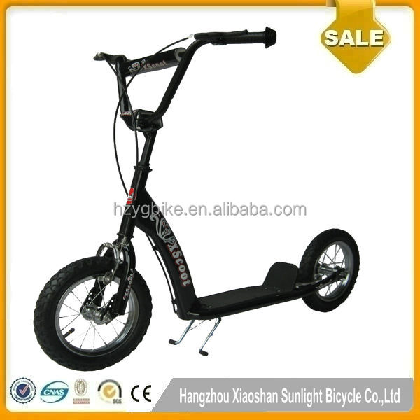 12 pouce nouveau mod le pas cher bmx scooter adulte grande roue trottinette scooters v los id. Black Bedroom Furniture Sets. Home Design Ideas