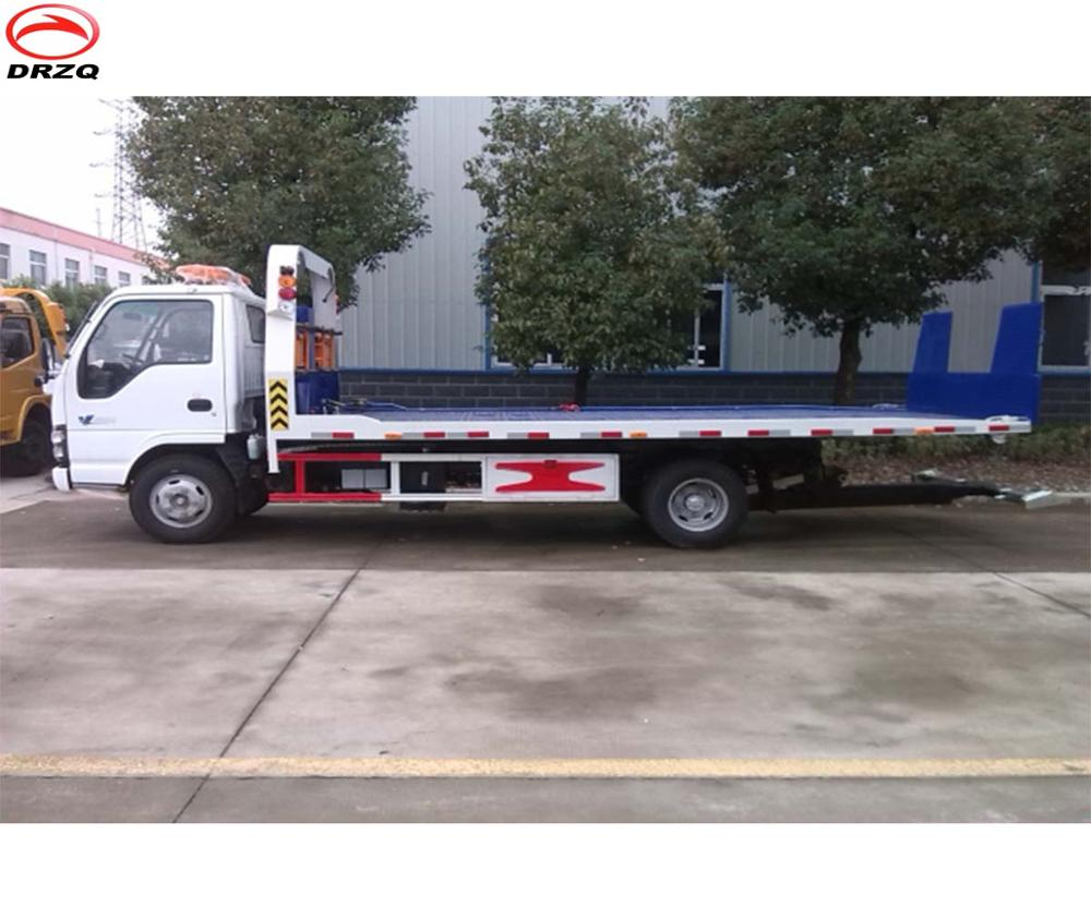 Hot Sale Japan Chassis 4*2 Flatbed Truck Dimensions