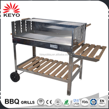 High Quality Stainless Steel Spit Roaster Rotisserie Charcoal BBQ Grill