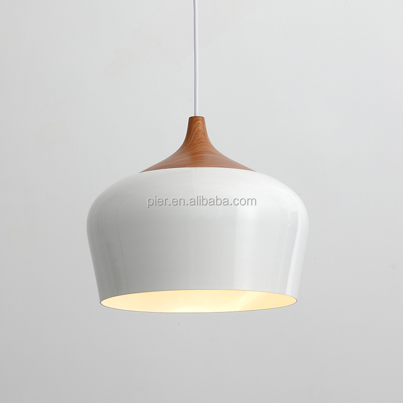 Modern pendant <strong>light</strong> E27 white black Optionally 300mm / 350mm