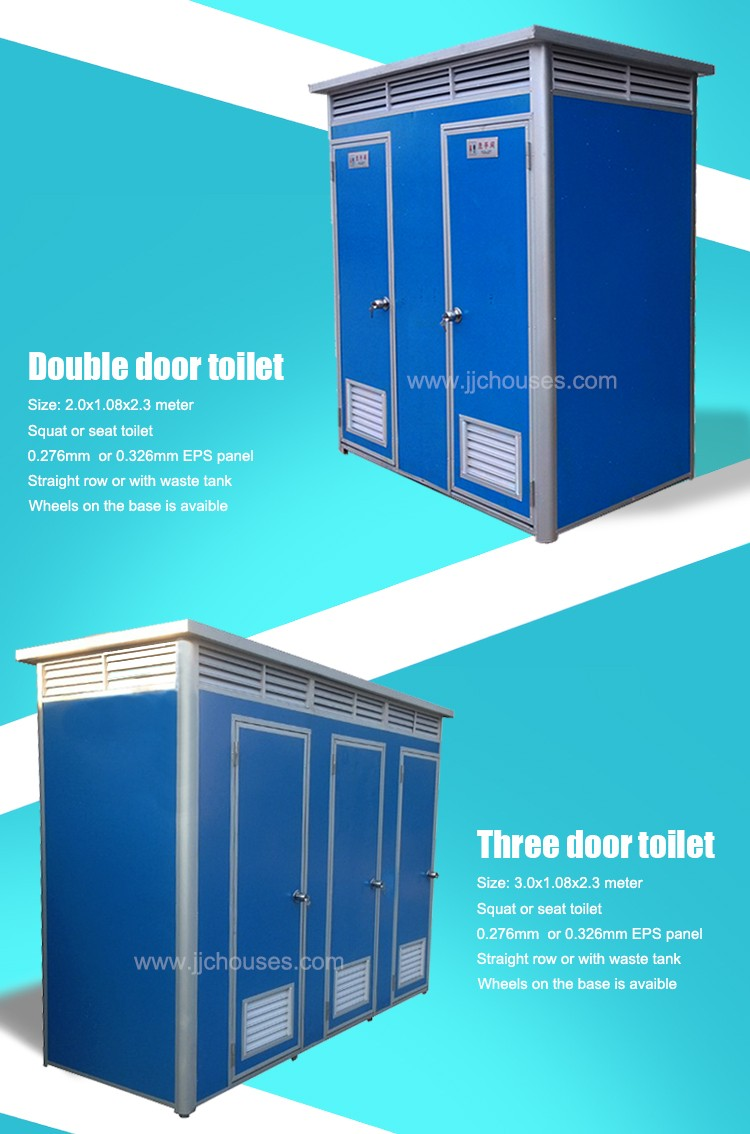eco toilet - Eco-friendly prefabricated mobile toilet