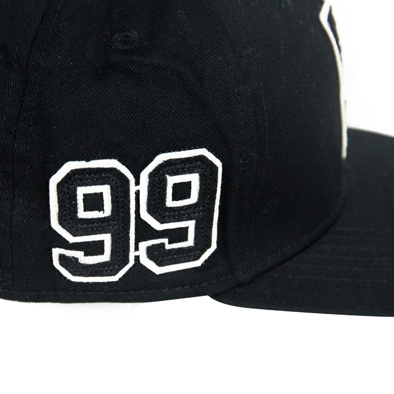 customize 6 panel short brim fitted  snapback hat