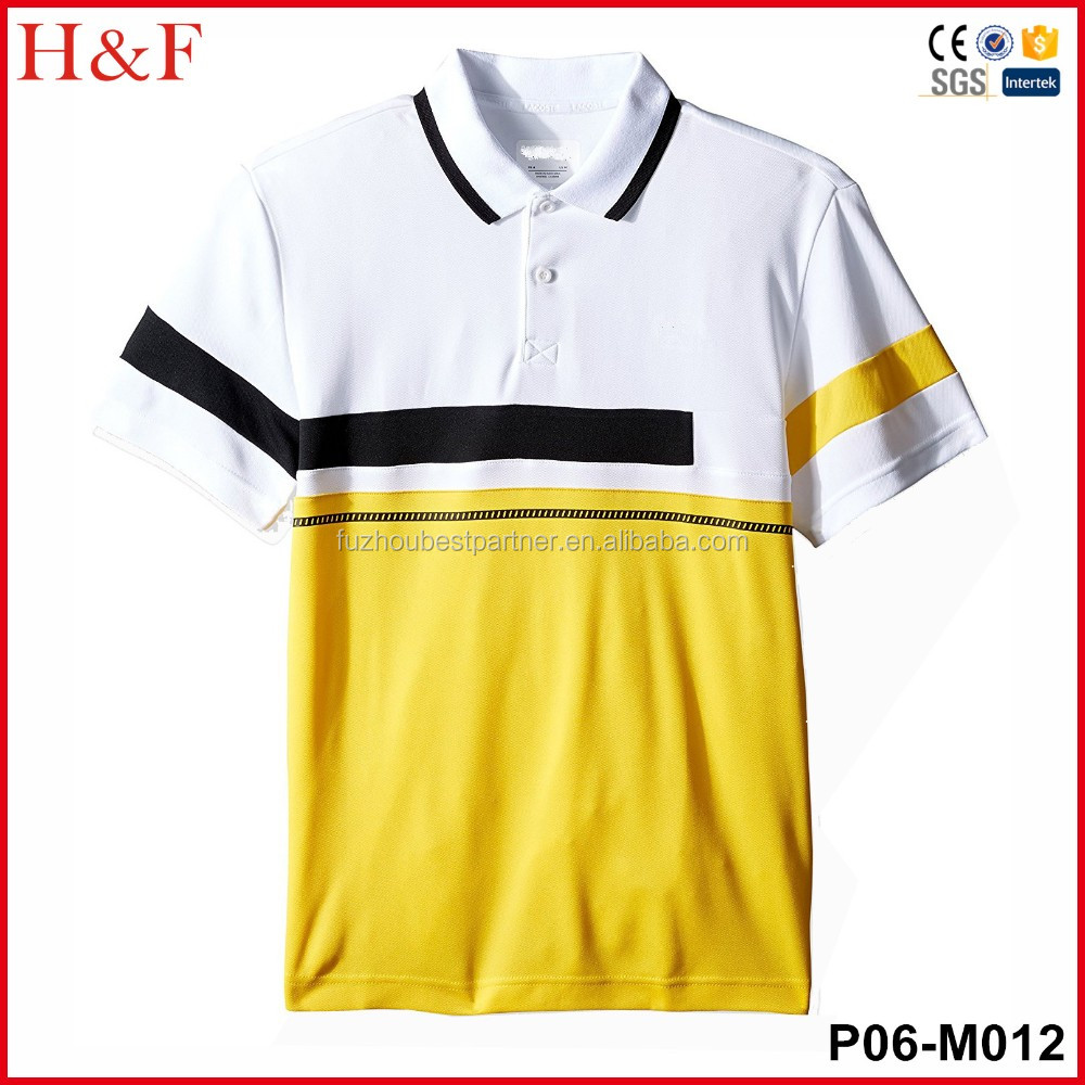 Embroidery Pattern Polo Shirt Latest Design Men 39 S Shirts