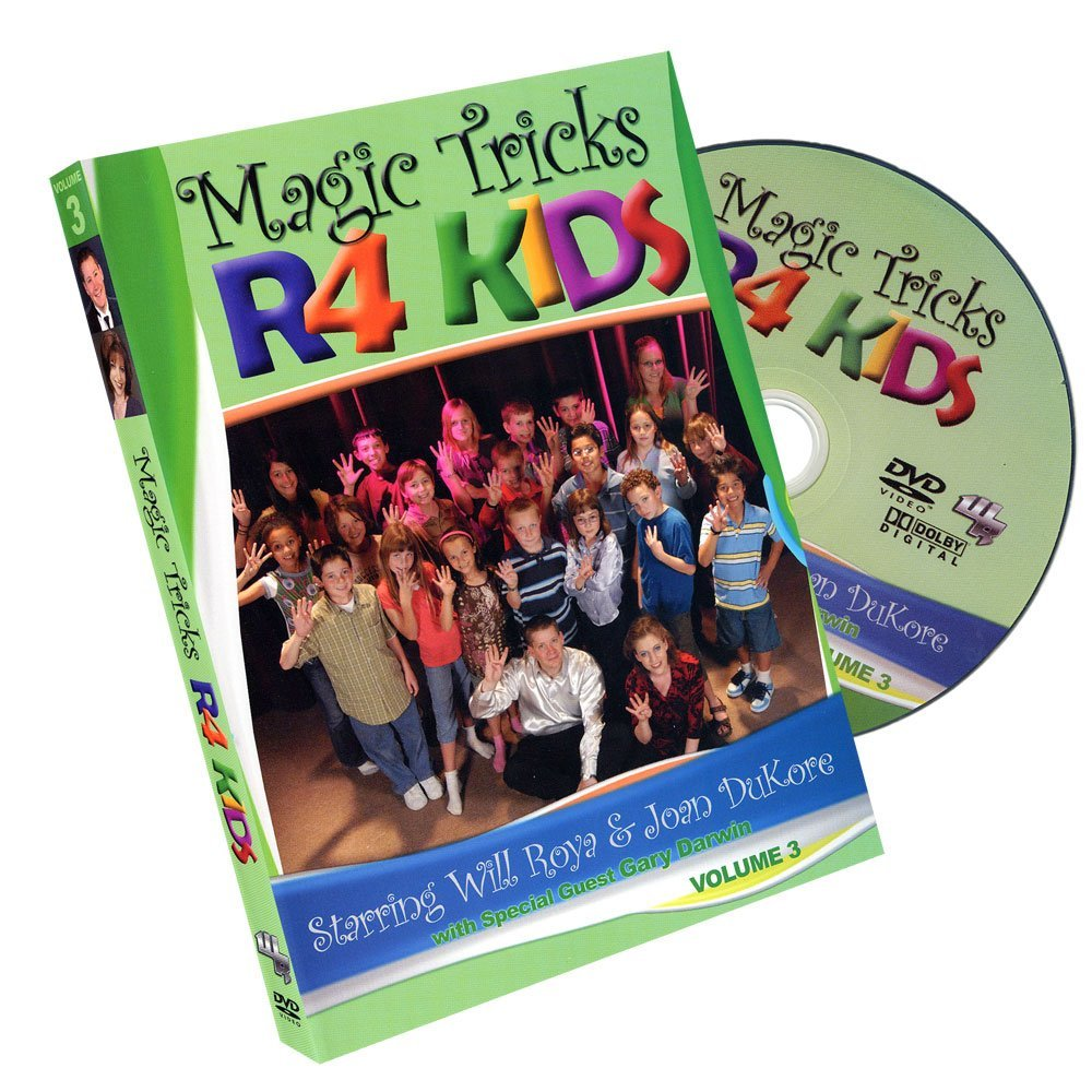 MMS Magic Tricks R 4 Kids - Volume 3 by Will Roya and Joan DuKore - DVD