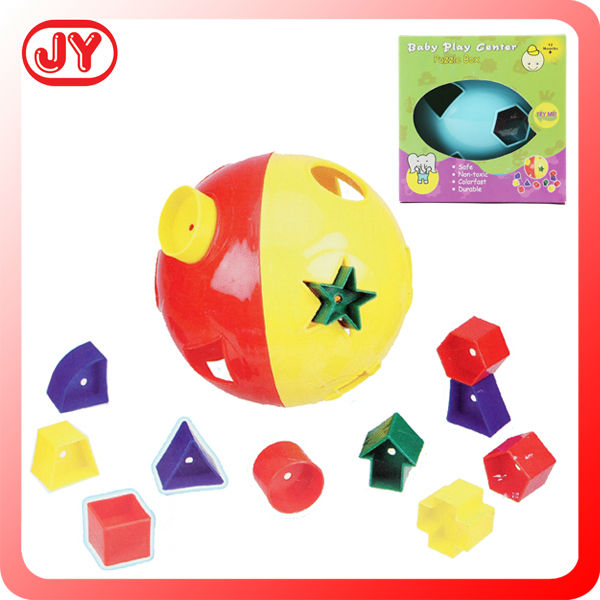 High quality round shape puzzle with spell ball