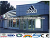 Modern Shop Facade Aluminum Composite Panel Low Density PVDF
