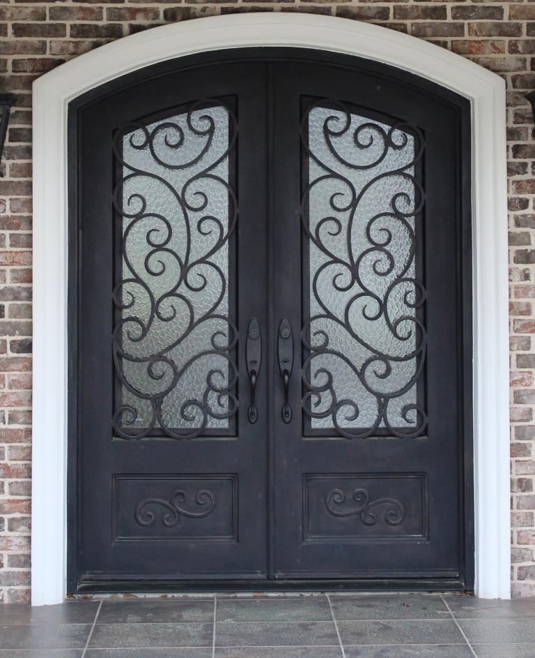 Metal doors lowes excellent wood look garage doors lowes for Lowes double doors