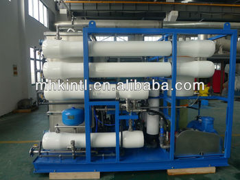 6000gpd Sea Water Purify Machine With Reverse Osmosis