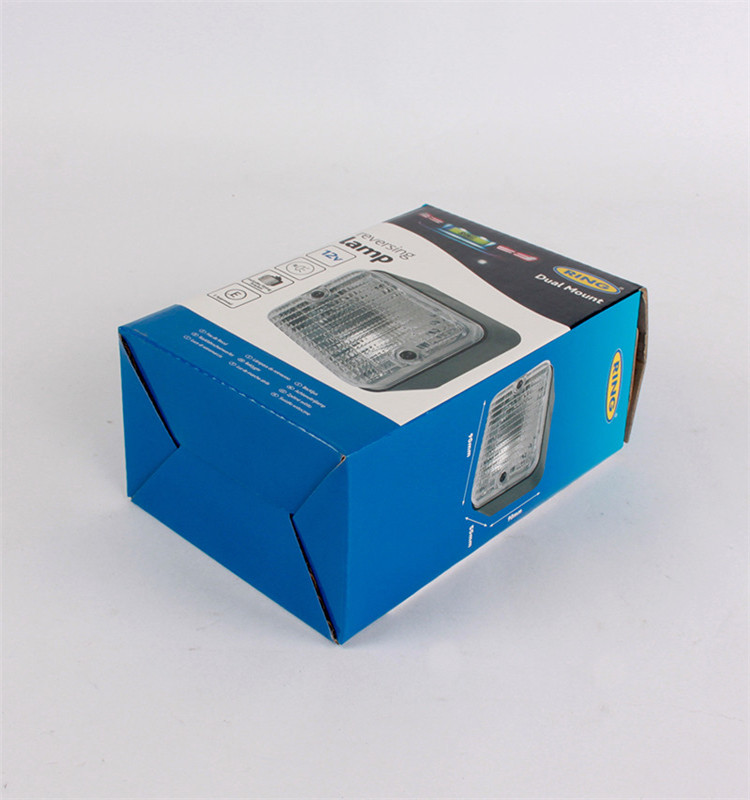 Custom auto parts packaging printing paper box