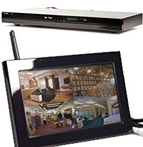 EyeSpySupply Wireless Covert DVD Player With LCD Monitor and Remote View