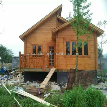 2016 Special Design Two Storey Wooden Houses.jpg 350x350 - Download Two Storey Small Wooden House Design  Pics