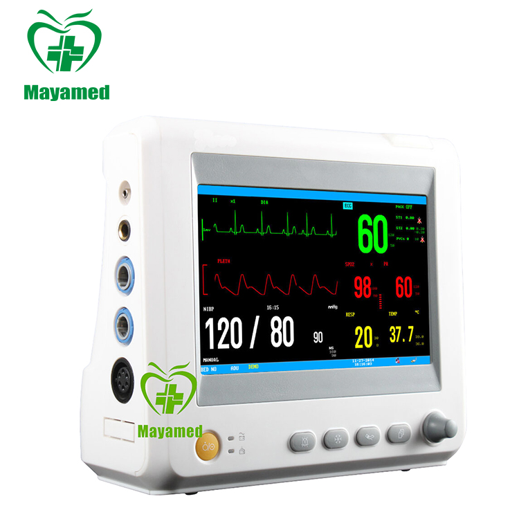 Maya medical hospital Operation Room ICU Emergency Ambulance Portable Patient Monitor price