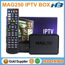 Linux System MAG 250 IPTV Media Streamer Full HD 3D VIDE Indian Arabic IPTV BOX In Stock