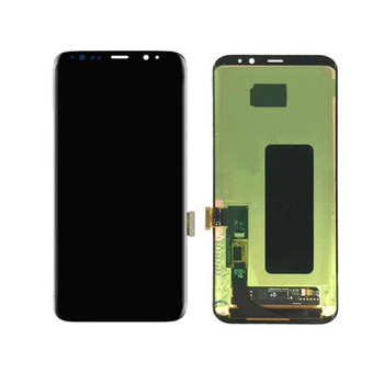 Mobile Phone Repair Parts LCD with Digitizer Assembly for Samsung Galaxy S8 LCD Black