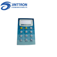 12 button matrix keypad 4x3 number pad and mini number keyboard membrane overlay the name of bank security cryptograph