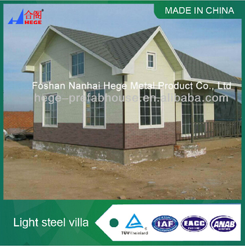 prefabricated easy to assemble cabin house